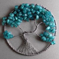 My 1st Tree of Life pendant redone by craftymama