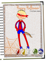 MR: Gecko's Halloween costume by Ch4rm3d