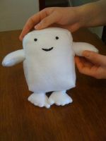 Plushie Adipose - Doctor Who by LadyofLabrador