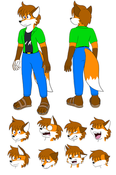 Zak Ref Commission by SorcererLance