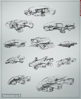 Starship concept art part4 by Allius