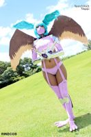 Zephyrmon Cosplay I by riinechan