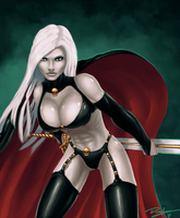 Commission: Lady Death by Durandus