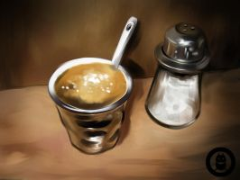 Salted Coffee by Py3rr