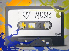 I Love Music by IIdop