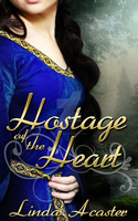 Cover: Hostage of the Heart by Linda Acaster by kek19