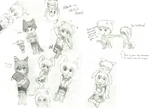 Attack on Sketch Dump by ThatCrazyVocataku