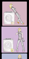 DN:: Mello's daily laundry by Time-To-Sakujo