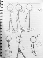 Exploring camera angles with StickMan by wulongti