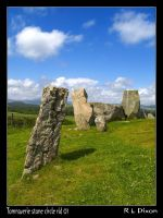 Tomnaverie Stone circle by richardldixon