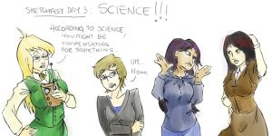 GG Fanart, OCs and SCIENCE by DasteRoad