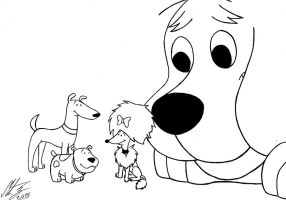 Clifford the Big Red Dog - The Best Friends by MortenEng21
