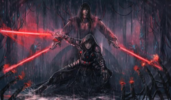 The Sith Lords by shizen1102