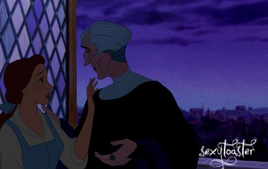 Frollo x Belle V by sexytoaster