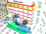 My 8th LEGO Build: Brick Calendar #1-3 by takeshimiranda