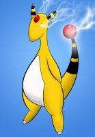 Ampharos by CharlesMuller