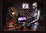 Her Master's Voice by neanderdigital
