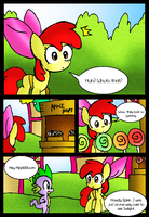 Apple Bloom's Tree: Page 4 by NeonCabaret