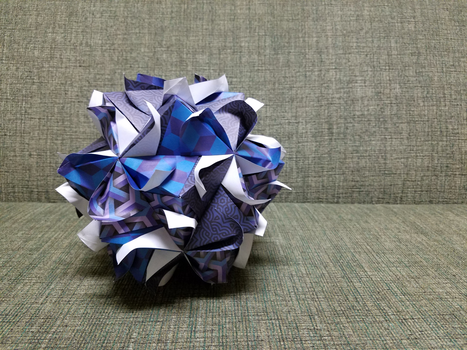 Modular Floral Origami (Remake) by Origami1105
