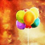 Colorful balloons by LostAnastacia