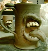 tongue mug 3 WIP by thebigduluth