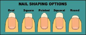 Nail Shaping Options by NAILART9