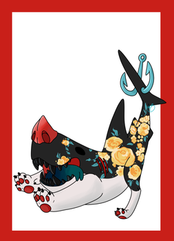 Snootshark: Floral by pikashoes