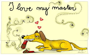 I love my Master by altergromit