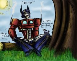 Prozac Eeyore Optimus by Idigoddpairings