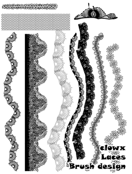 Laces brush by clowx