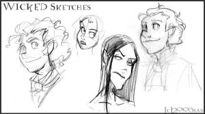 Wicked Heads by lberghol