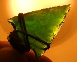 Small Green Arrowhead by meathive