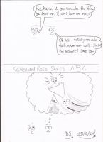 Kaven and Rose Shorts - 5 by DazzyDrawingN2