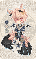 Chibi Auction Adopt 4 {CLOSED} by FriedDragonfruit