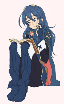 Princess Lucina is confused by churrosfairy