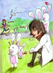 Rabbids Can't Be Karas' by 25animeguys