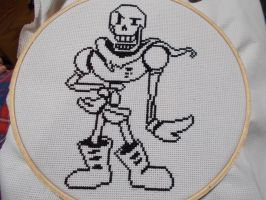 Papyrus Cross Stitch (Outline) by AmyJean-13