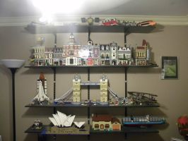 My Great Lego Collection Part 2 by PlatniumGhostKnight