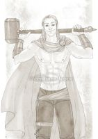 Young Thor by CristianaLeone