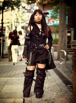 Japanese Street Fashion 7 by hakanphotography