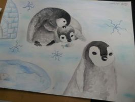 Penguins!!! by Kimsblue
