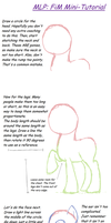 How to draw MLP: FiM by DawnMistPony