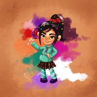Vanellope So Sweet by snowginger