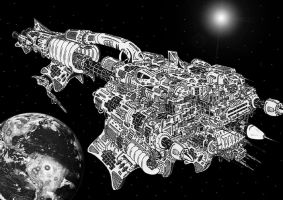 Machine-Hive Dreadnought by juanosarg