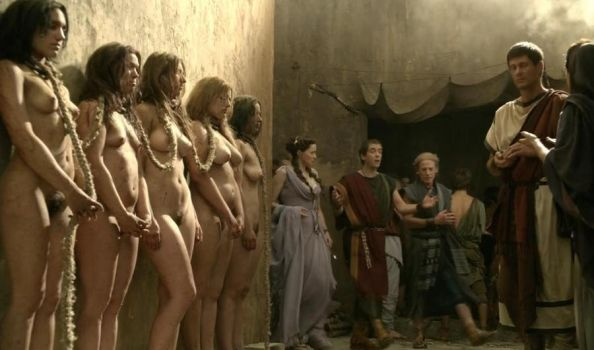 Ancient Rome 2 - slave market by marconespola