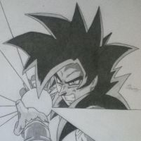 Goku Super Saiyan 4 by Conzibar