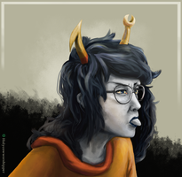 Sticking out -Homestuck- by HolyCowWorshipper