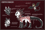 Depth Demon Species Sheet and Open Adoptables by The-F0X