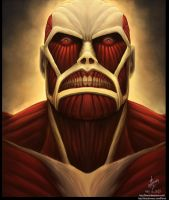 Colossal Titan by kinwii