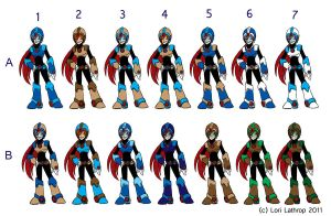 Runa Craftson Color Variations by Questern